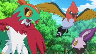 Pokemon X Y HINDI🔴Ash catches a new Pokrmon🔵Ash ने पकड़ा नया Pokemon