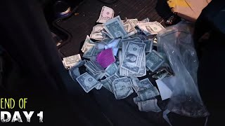 Flea Market Swap Meet Selling.. HOW MUCH CASH MONEY DID WE RACK IN?