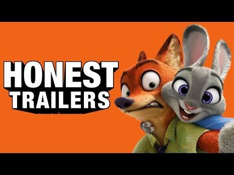 Honest Trailers Zootopia