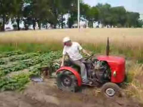 Mój traktor sam czyli Dziko maluch2