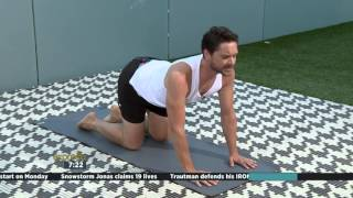 Yoga for over 40's with Stuart Kirton Part 1
