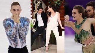 Figure Skating's Top 5 Social Media Moments feat. Tessa Virtue, Scott Moir, Adam Rippon