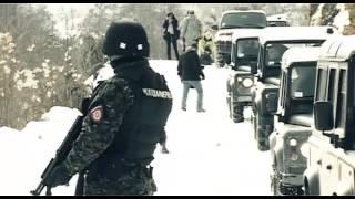 Žandarmerija Srbije-Obilazak dir. policije KZB 2012