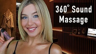 ASMR Massage 360 3dio Sound Roleplay