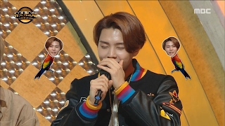 [Duet song festival] 듀엣가요제- NCT Johnny has individual skill 'parrot' 20170217