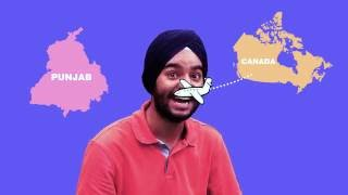 A Punjabi next to Patiala pegs? Watch to see what happens next!