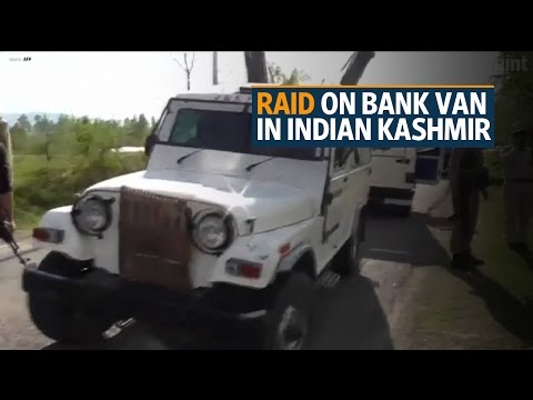Xxx Mp4 Seven Killed In Raid On Bank Van In Indian Kashmir Police 3gp Sex
