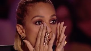 Shy little girl leaves the judges in TEARS with her AMAZING Voice