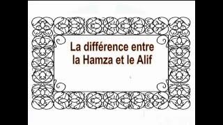 La différence entre la Hamza et le Alif