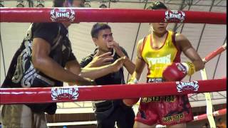 Peung Siam vs Little Tiger: Muay Thai Queen's Cup 2015