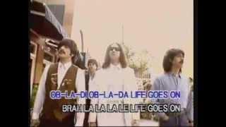 The Beatles - Obladi Oblada Color Rare Version Laser Disk U-Best