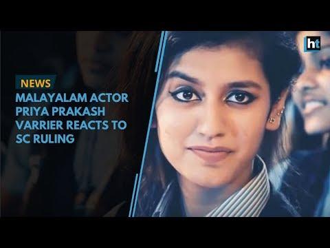 Xxx Mp4 Malayalam Actor Priya Prakash Varrier Reacts To SC Ruling 3gp Sex