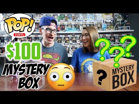 Unboxing Another ToyUSA2011 $100 Funko Pop Mystery Box!!