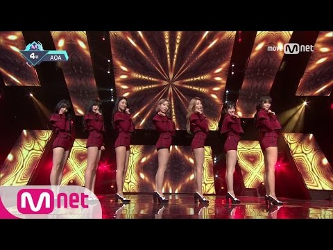 Download [AOA - Excuse Me] KPOP TV Show | M COUNTDOWN 170112 EP.506