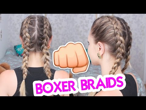 Trança de Boxeadora Boxer Braids Jana Taffarel