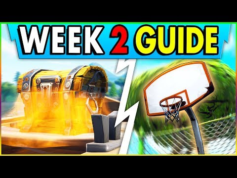 Xxx Mp4 Fortnite WEEK 2 CHALLENGE GUIDE Basketball Hoop Locations Search Between Oasis Archway Dinos 3gp Sex