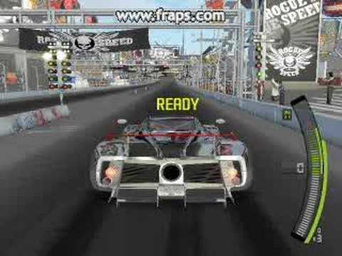 Need For Speed Pro Street PC my 1st wheelie challange