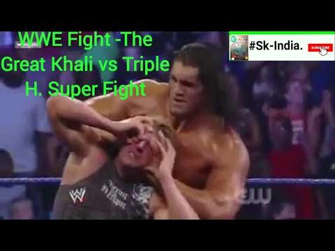 Xxx Mp4 WWE Fight The Great Khali Vs Triple Xxx Super Fight 3gp Sex