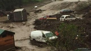 Major storm prompts evacuations in southern California