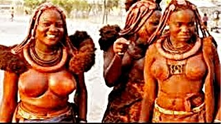 Indigenous African Woman Swagger Himba tribe