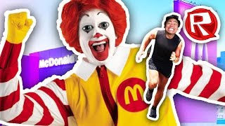 ESCAPING THE FAST FOOD RESTAURANT! | Roblox