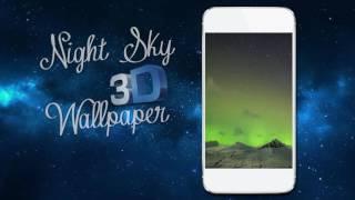 Night Sky 3D Wallpaper