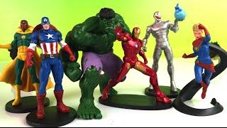 Avengers Captain America Hulk Iron Man Marvel Heroes - Marvel - DisneyToysReview