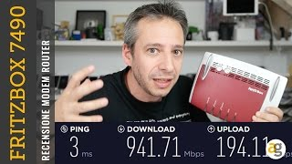 Il miglior modem router che abbia mai provato! RECENSIONE Fritz!box 7490
