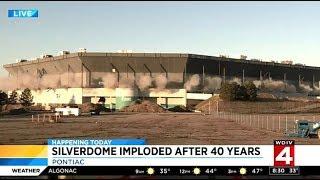 PONTIAC Silverdome Doesn't Implode (HILARIOUS EPIC FAIL) FOX2 WDIV4