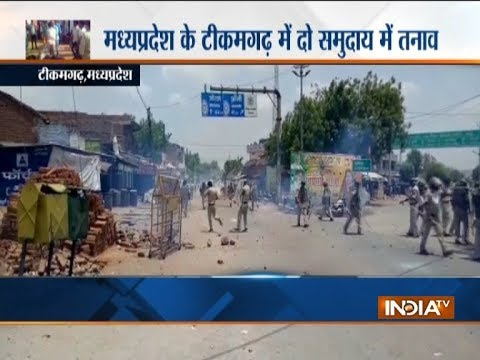MP Violent community clash breaks out in Tikamgarh heavy security forces deployed