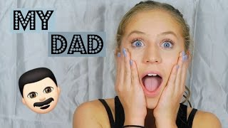 MY DAD DOES MY VOICEOVER~EVERYDAY MAKEUP ROUTINE//meggs and bacon
