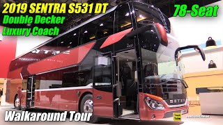 2019 Setra S531 DT 78-Seat Double Decker Coach - Walkaround - 2019 IAA Hannover