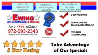 AC Repair Frisco Texas, Air Conditioning Service Frisco TX   Ewing Air Conditioning