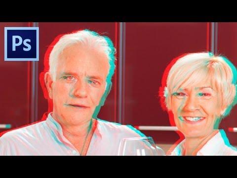 Photoshop Recriando o efeito 3D em suas fotos.