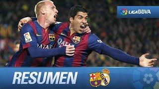 Resumen de FC Barcelona (2-1) Real Madrid