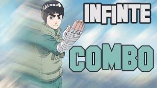 Rock Lee Infinite Combo - Naruto Shippuden: Ultimate Ninja Storm 4