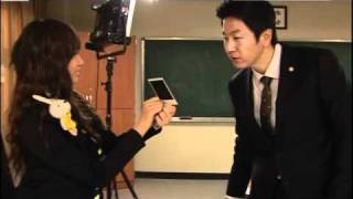 T-ara Jiyeon & Kim suro - Behind the scenes