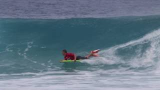 Mike Stewart Pipeline Invitational 2017 Day 01 Highlight
