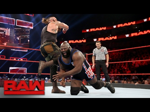 Xxx Mp4 Mark Henry Vs Braun Strowman Raw Feb 13 2017 3gp Sex
