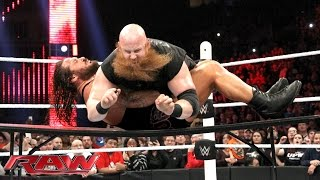 Extreme Rules 8-Man Tag Team Match: Raw – 14. Dezember 2015