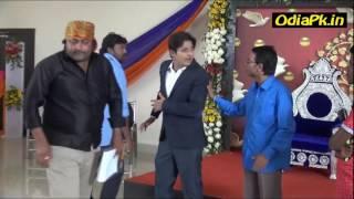 Babusan Mohanty shooting set Video