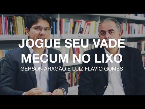 [Dica] Jogue seu Vade Mecum no Lixo   Gerson Aragão e Luiz Flávio Gomes