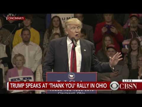 Xxx Mp4 WATCH LIVE Donald Trump Holds Victory Rally In Cincinnati 3gp Sex