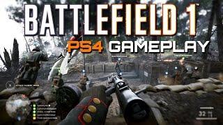 Battlefield 1: Argonne Forest - 44 Kills Live on PS4
