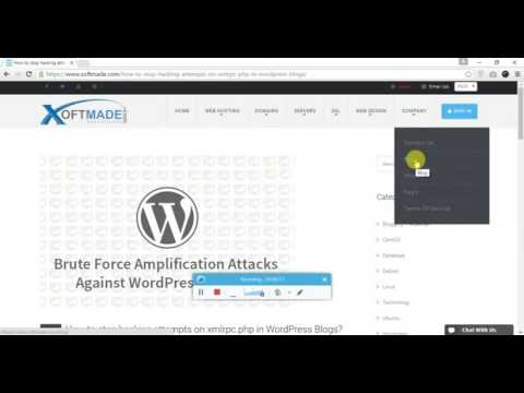 How to stop hacking attempts on xmlrpc.php in WordPress