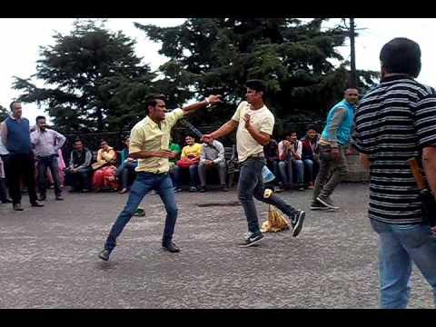The Real Fight Scene on Scandal Point (The Ridge Shimla)
