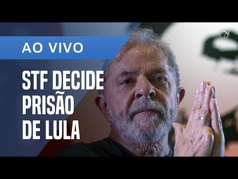 STF DECIDE SOBRE PRISÃO DE LULA; ASSISTA