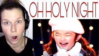 ANGELICA HALE - OH HOLY NIGHT   REACTION