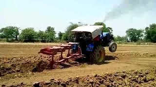 massey 9500 vs sonalika vs new Holland 3 mb plough