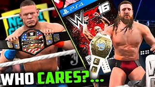 NOBODY Cares About This WWE Game!   WWE 2K16